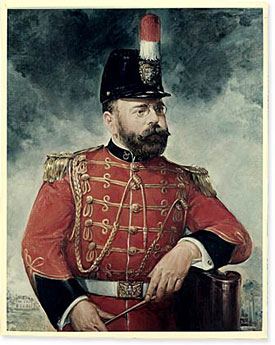 Painting of Sousa during US