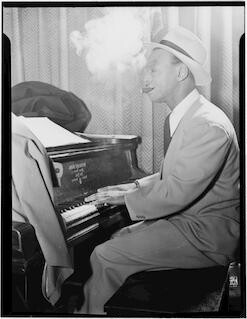 [Portrait of Earl Hines, New York, N.Y., ca. Mar. 1947] [graphic]