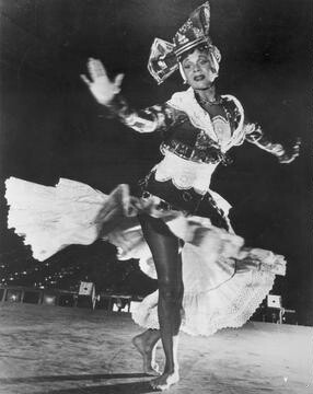 Katherine Dunham in an undated photograph in Choros [photograph]