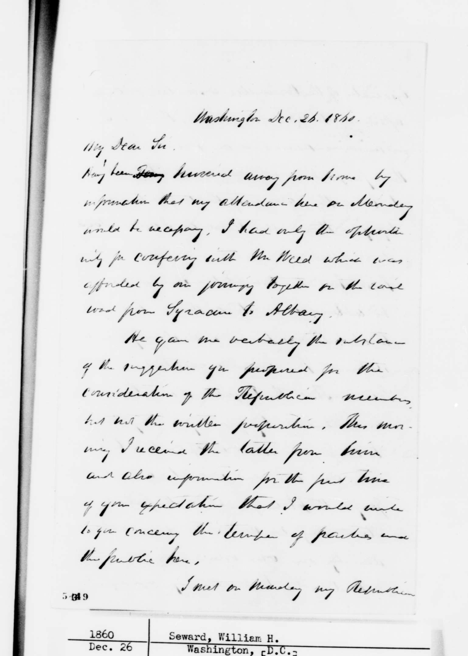 Abraham Lincoln And The Corwin Amendment  History News Network  Lincoln In A Letter Of Acknowledgement