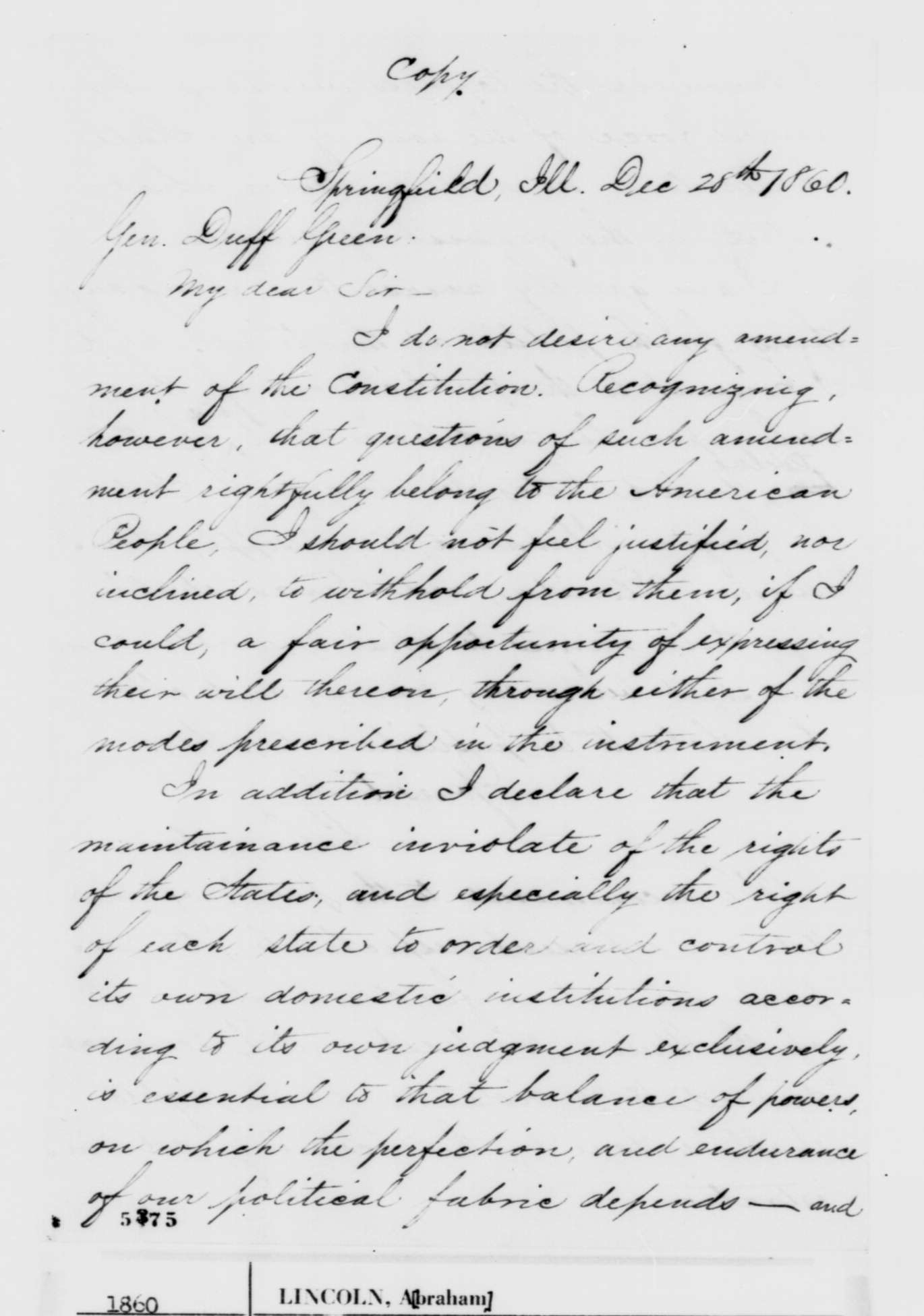 thesis of lincolns first inaugural address Abraham lincoln's first inaugural address was delivered on monday, march 4, 1861, as part of his taking of the oath of office for his first term as the sixteenth.
