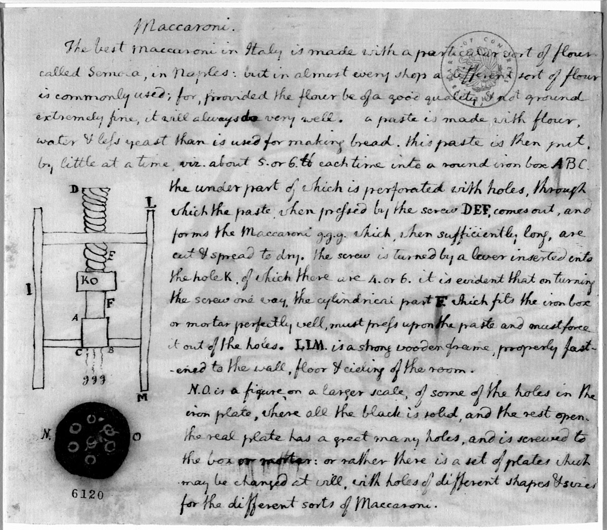 thomas jefferson essay thomas jefferson legal commonplace book  jefferson vs franklin revolutionary philosophers edsitement thomas jefferson s drawing of a macaroni machine and instructions