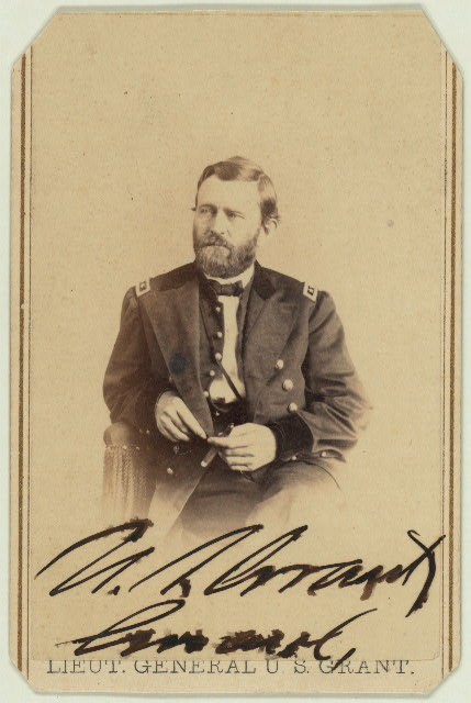 Ulysses S Grant as a Lt. General, Library of Congress image