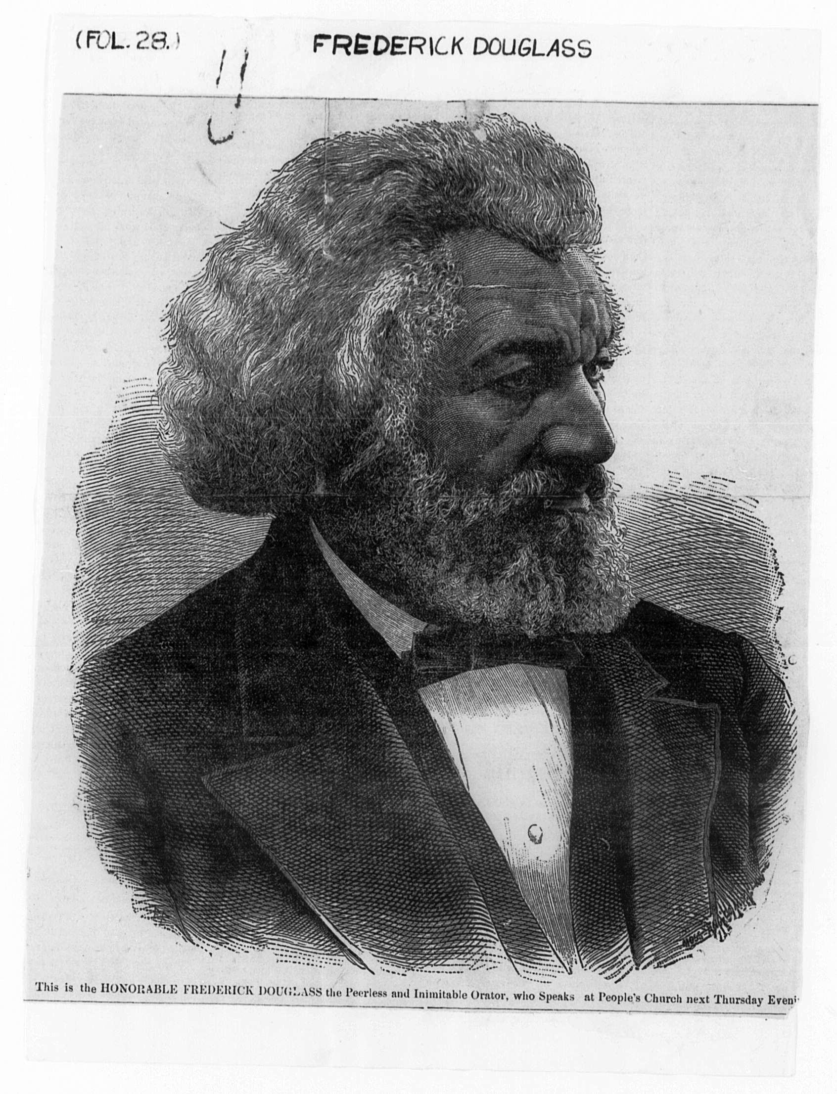 replace this text the title of your learning experience an exploration of the letters of frederick douglass