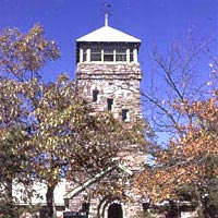 Cheaha Tower, highest point in the state of Alabama