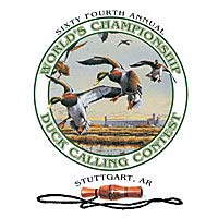 Poster for 64th Annual Duck Calling Contest