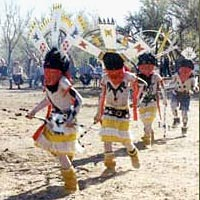 Young Apache Crown Dancers