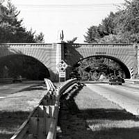 James Farm Road Bridge, Merritt Parkway