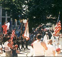 Nagatuck Veterans Council in 1999 Parade