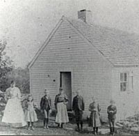 Class at Burrows Hill School, 1894