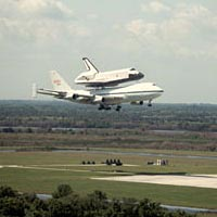 NASA space shuttle orbiter Challenger, April 1984