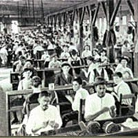 Cigar workers at turn of century