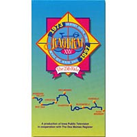 Video cover of 25th annual RAGBRAI, 1997