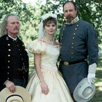 "A ""Confederate Wedding"" at Jefferson Davis State Park, June 5, 1999"