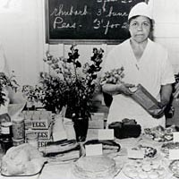 Items available at Bethesda Farm Women's Market, late 1930s
