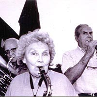 Members of the Daniels Band, oldest continuous non-military band in the region