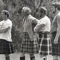 Highland athletes at rest, 1984