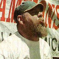"10-time champ ""Pellet Gun"" Krause, July 1997"
