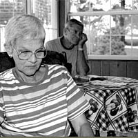 Marge and KC Caldwell, interviewees, July 21, 1999