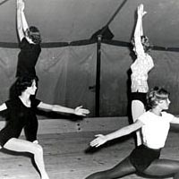 First ballet classes were held in a tent in 1962