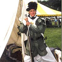 Re-enactor portrays member of Lewis & Clark expedition