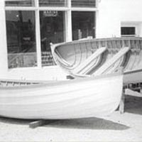 16' sea bright dory used for life-saving
