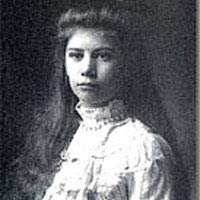"Julia Jackman, ca. 1910, from exhibit ""Home for the Heart"""