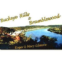 "Cassette tape cover illustration from ""Buckeye Hills & Bramblewood"""
