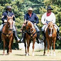 Buffalo Soldiers - 10th Cavalry Re-enactors