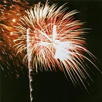 Fireworks Display at Cowpens Battlefield