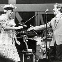 Minnie Pearl and Roy Acuff, 1987