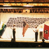 "Flag Finale scene from ""Tennessee Tapestry"""