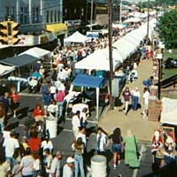 Apple Festival attendees, October 1999