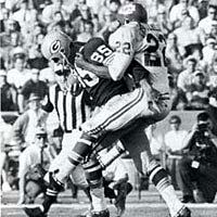 First Superbowl, January 15, 1967 Green Bay Packers v. Kansas City Chiefs
