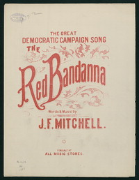The Red Bandana [Sheet music]