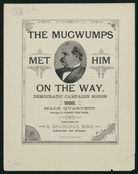The Mugwumps Met Him on the Way [Sheet music]