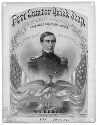Fort Sumter quick step [sheet music]