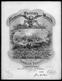 Fremont hussars march [sheet music]