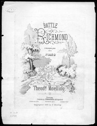 Battle of Richmond [sheet music]