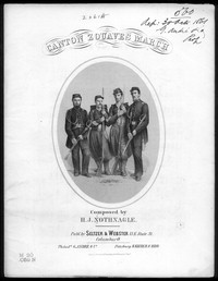 Canton zouaves march [sheet music]