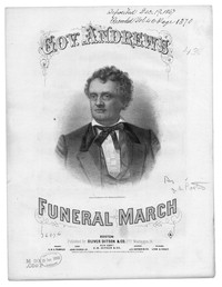 Marche funebre [sheet music]