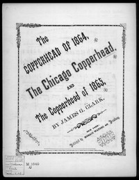 The Chicago copperheads [sheet music]