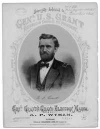 Gen. Grant's grand election march [sheet music]