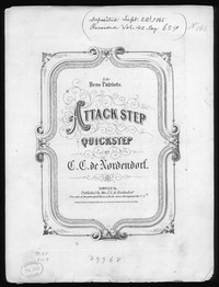 Attack-step, quickstep [sheet music]
