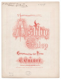 Ashby galop [sheet music]