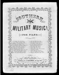 The Beauregard or Fort Sumter polka march [sheet music]