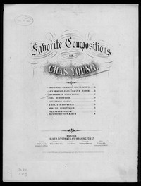 Contraband schottisch [sheet music]