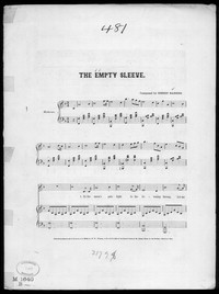 The Empty sleeve [sheet music]