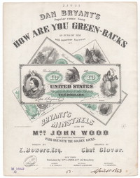 How are you green-backs [sheet music]