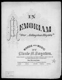 In memoriam [sheet music]